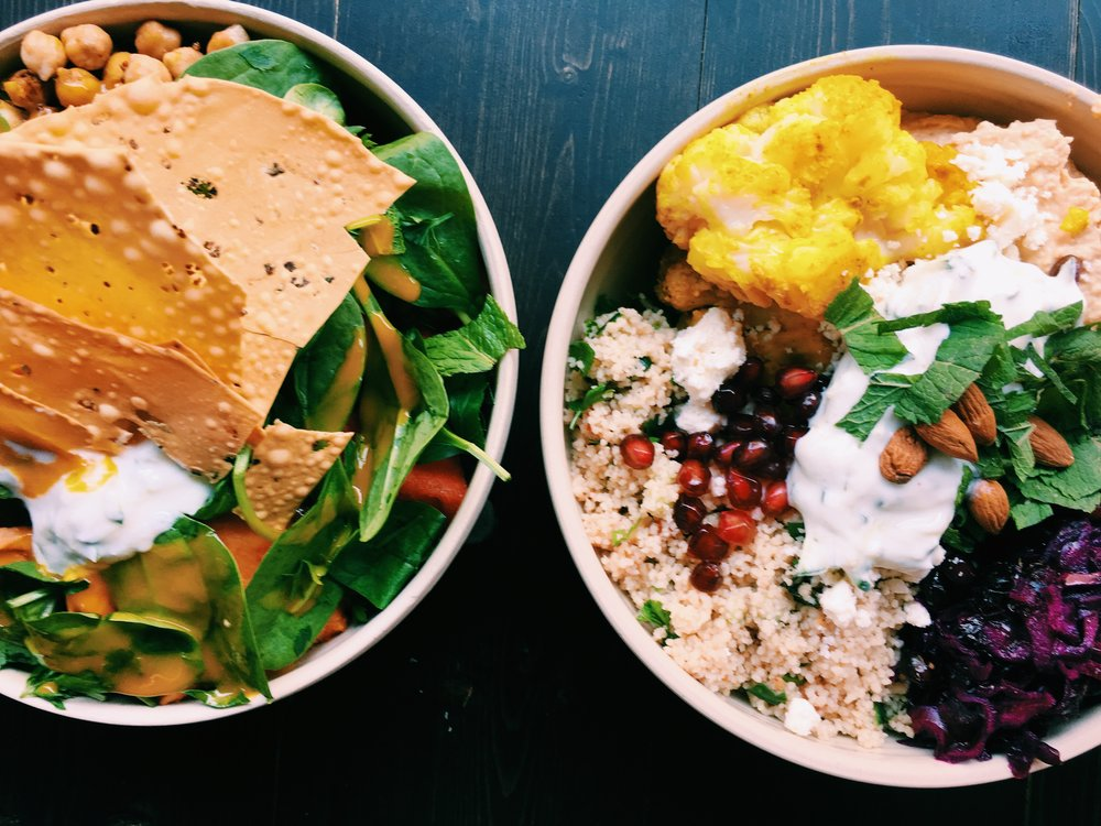 Beets & Roots - located in Mitte, really healthy and yummy food bowls for dinner or lunch, seasonal changing options and everything is super fresh