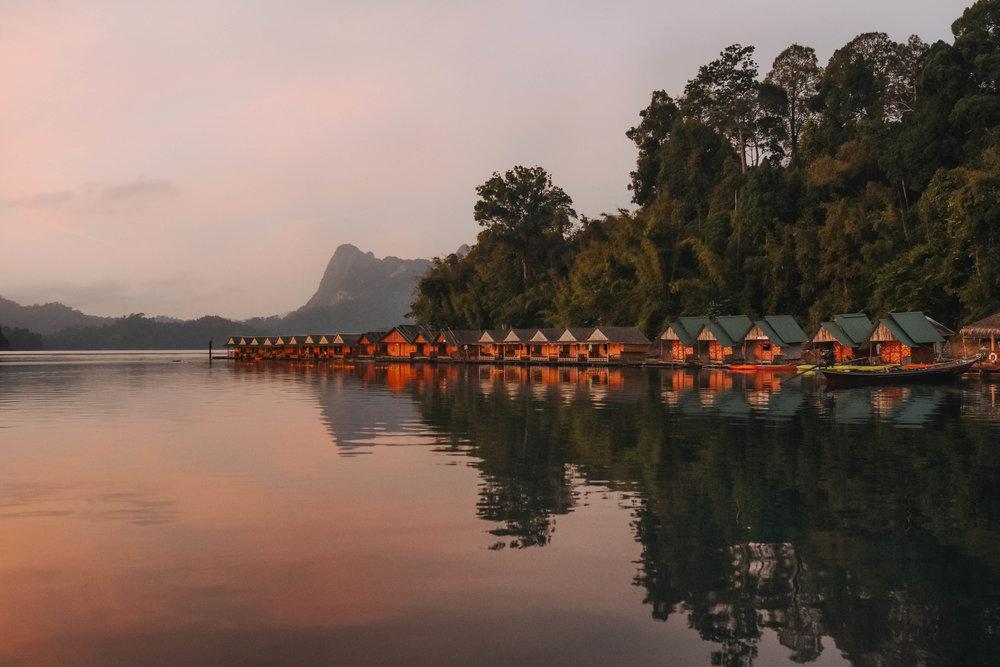 Khao Sok Riverside Cottages - travel // thailand