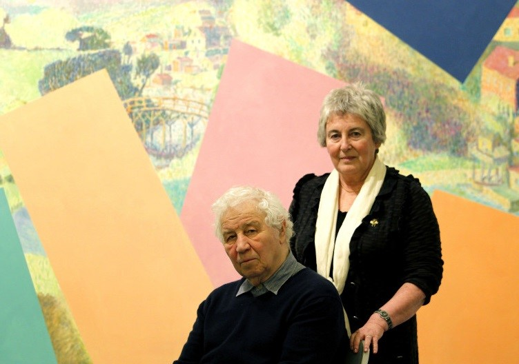 Portrait for Ilya & Emilia Kabakov, courtesy of Pace Gallery