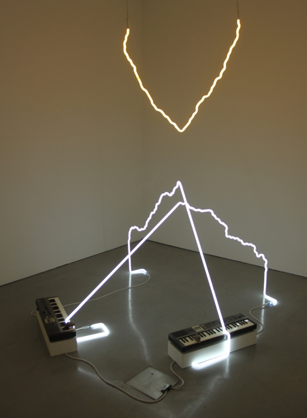 """""""everything failing to become something"""", Richard T. Walker at the Carroll / Fletcher Gallery"""