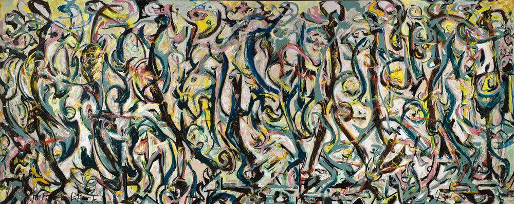 Jackson Pollock 'Mural', 1943 Pollock-Krasner Foundation