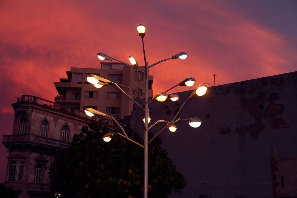'The Tree of Light' by Rafael Villares, remained in the city after Cuban Biennial 2015