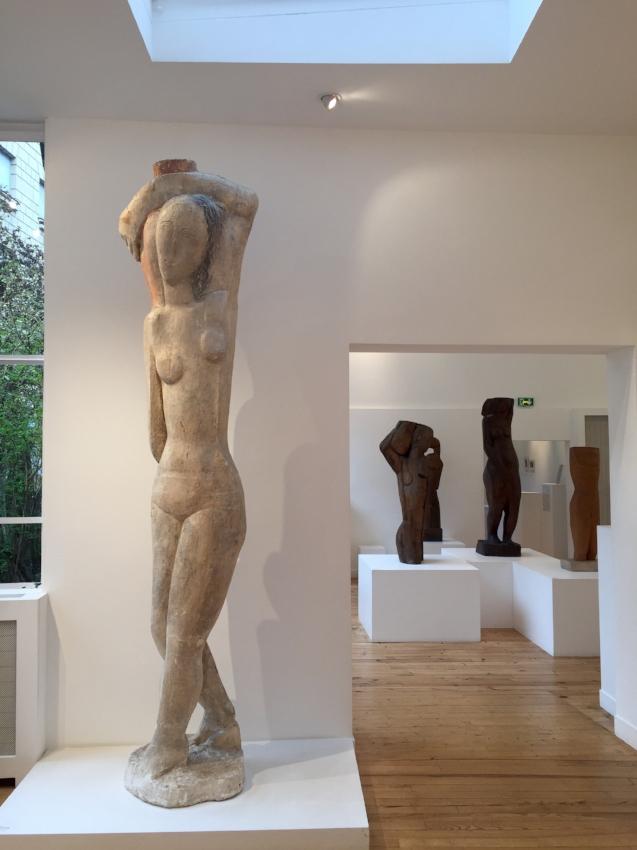 Installation view, Zadkine Museum