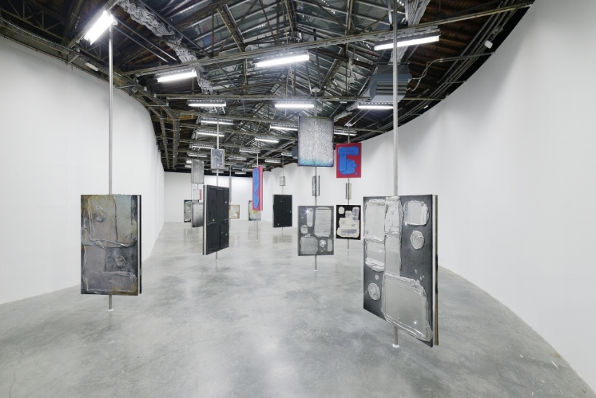 Exhibition view of Florian et Michael Quistrebert, 'The Light of the light', Palais de Tokyo