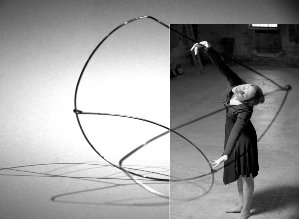 'OCCUPYING MOMENTUM – wire model making'Kyveli Anastasiadi