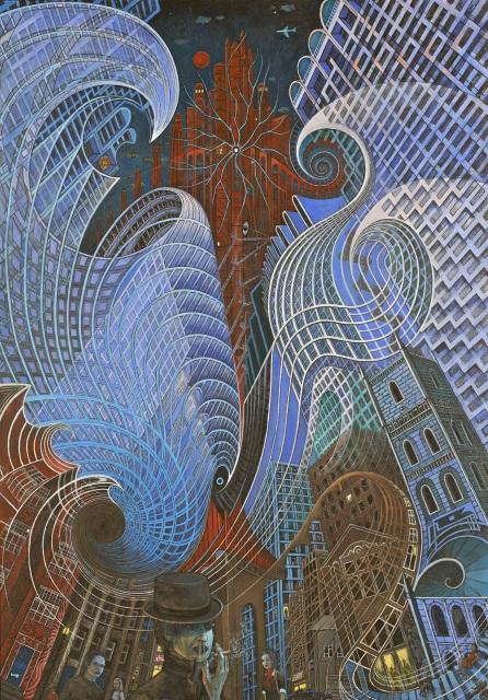 'Citadel' by Caio Locke (Ashurst Gallery exhibition 2016)