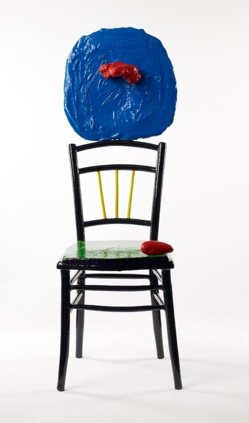 Mujer sentada y niño 1967 Fondation Joan Miró