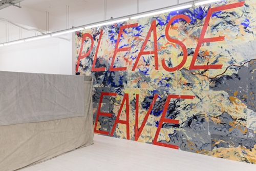 Alice Hartley, Please Leave, 2016-17 at Pi Artworks London  Strike Site