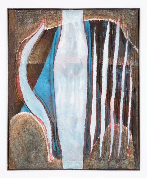Tsuyoshi Maekawa, Mannaka Tate no Blue (A18), 1964 © of the artist