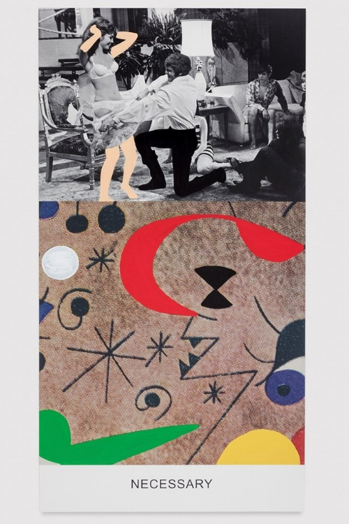 John Baldessari, Necessary, 2016. Copyright John Baldessari, courtesy the artist and Marian Goodman Gallery, New York, Paris & London, photography Joshua White