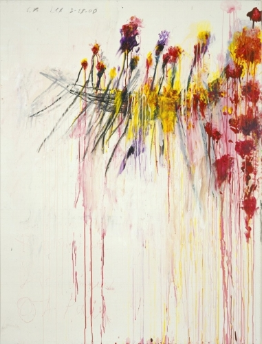 CORONATION OF SESOSTRIS, PANEL 5, 2000. / (Pinault collection) Photograph© Cy Twombly Foundation
