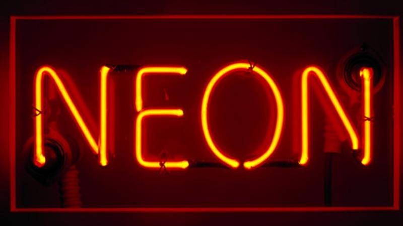 Neon sign, 1930s,  ©   Science Museum  / Science & Society Picture Library -- All rights reserved.
