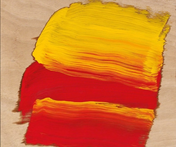 Howard Hodgkin, Now 2015-2016, Courtesy: The artist & Gagosian Gallery