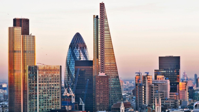 London's modern skyline.  Photo Credits: THE SUNDAY TIMES
