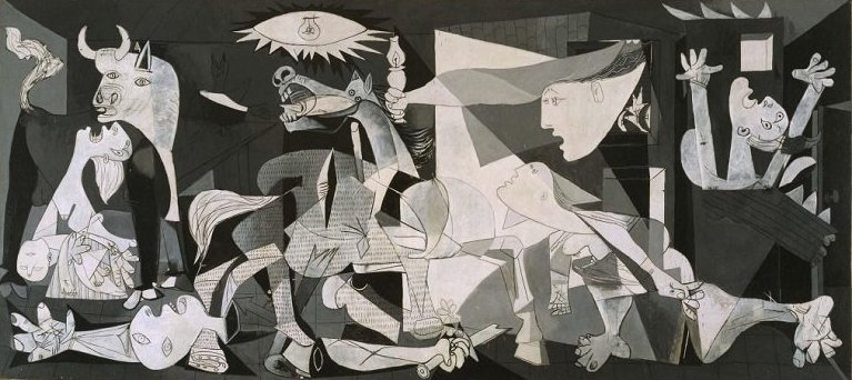 Pablo Picasso, Guernica (1937). Courtesy Museo Reina Sofia