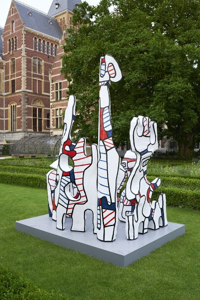 Monument au fantôme (1969–1971) Fondation Dubuffet, Paris. ©2017 Fondation Dubuffet, Paris / Pictoright, Netherlands. Photo Johannes Schwartz