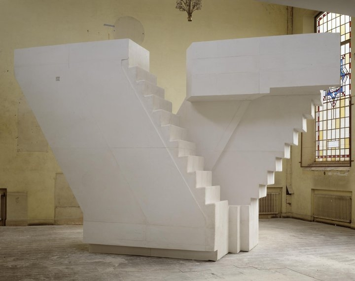 Rachel Whiteread, Untitled (Stairs) 2001 Tate © Rachel Whiteread