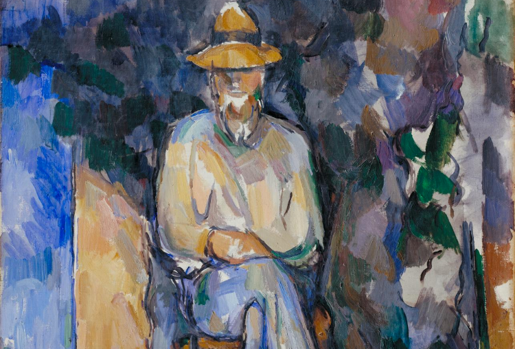 Paul Cezanne, The Gardener Vallier, 1905-06  (detail), Photo Courtesy of the Tate