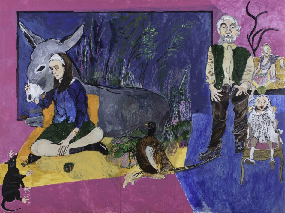 Paula Rego,  Comfort , 2017. Pastel on paper. Courtesy of the artist and Jerwood Gallery.