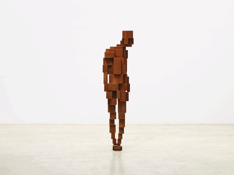 Antony Gormley RA, GAZE III, 2015. © Anthony Gormley. Photo: Stephen White.