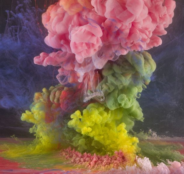 Kim Keever, 'Abstract 9318,' 2014, Waterhouse & Dodd