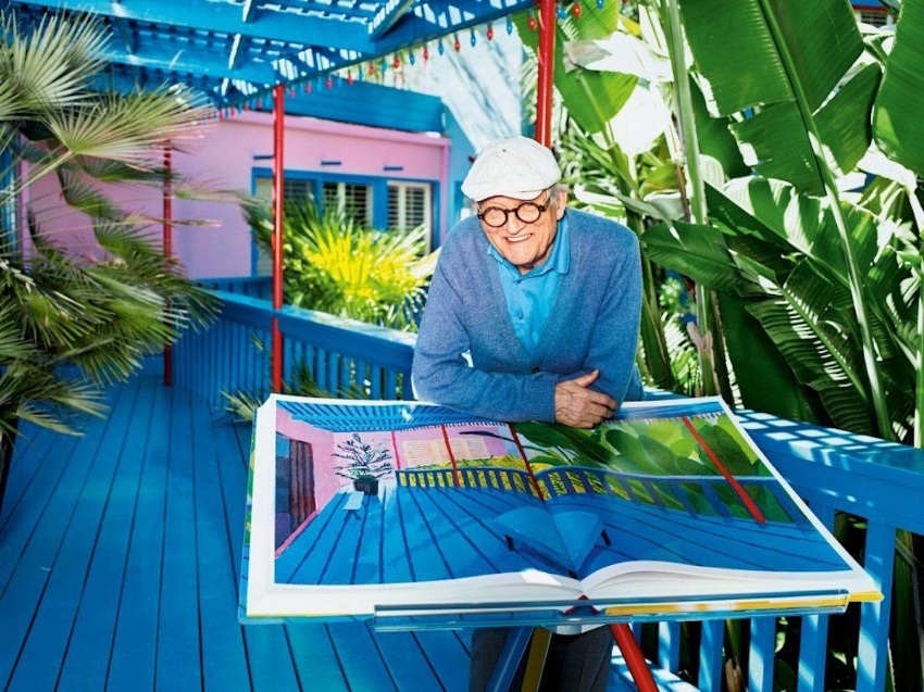 David Hockney, Los Angeles (2016) Courtesy of Matthias Vriens-McGrath.