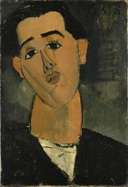 Amedeo Modigliani  Juan Gris  1915 Lent by The Metropolitan Museum of Art, Bequest of Miss Adelaide Milton de Groot (1876–1967), 1967