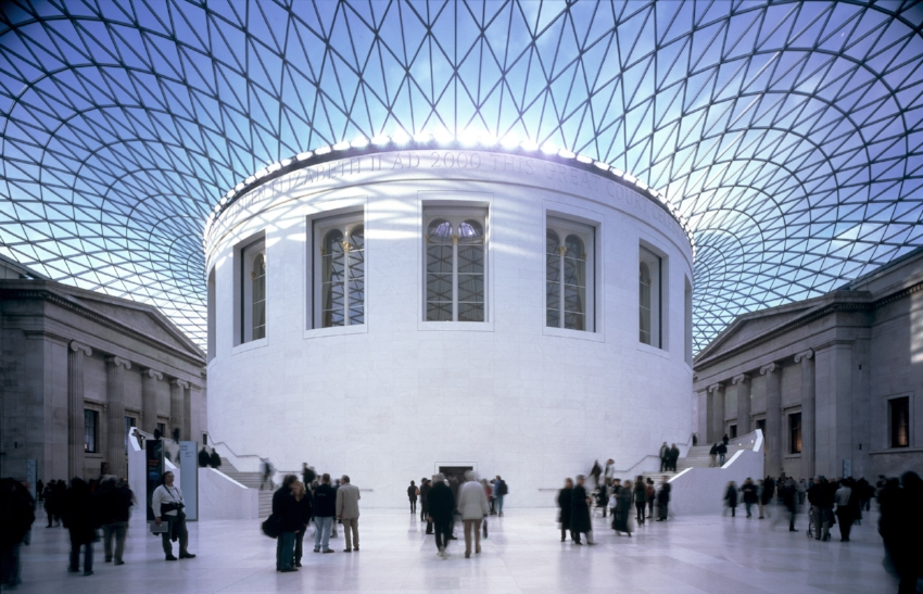 Great Court The British Museum, © Image courtesy Foster+Partners