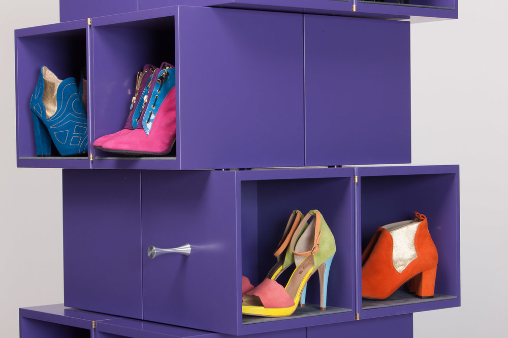 Cubrick 20 shoe storage