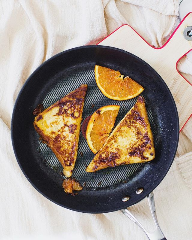 It's been a while!! Sat morning, the tangy French toast kinda morning😝