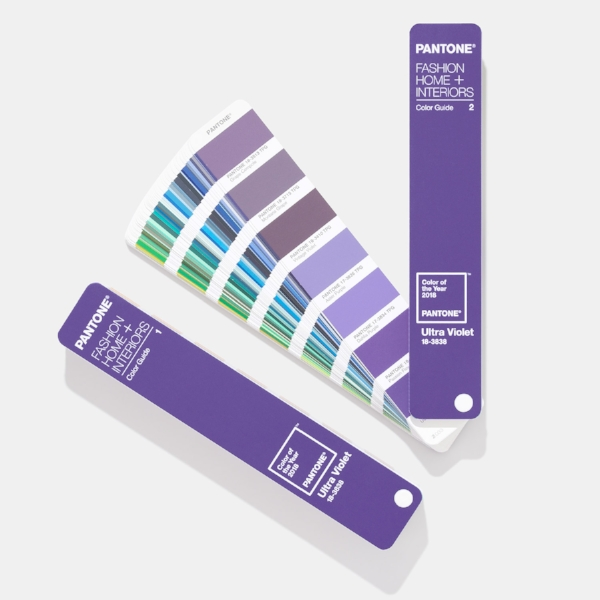 The future is ultra-violet - the Pantone colour of 2018 is  PANTONE 18-3838