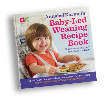 Annabel Karmel Baby Led Weaning Recipe Book