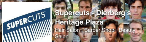 Supercuts – Dierbergs Heritage Plaza is owned by Ladue School District alumna and parent Tracye Julien Donovan. Supercuts is the market leader in affordable hair care, offering cuts, styling, waxing, Supercolor, and high end salon products.