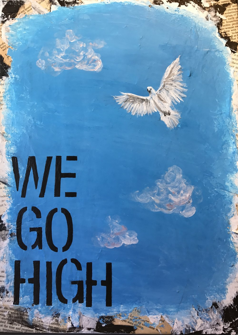 We go high