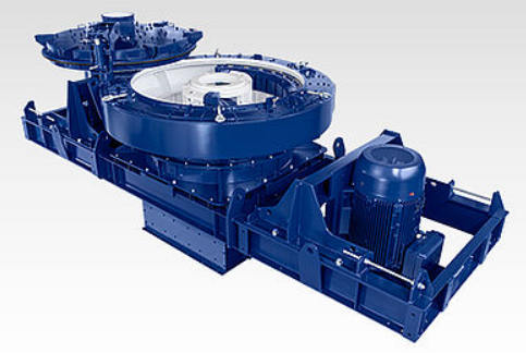 Rotor centrifugal crusher