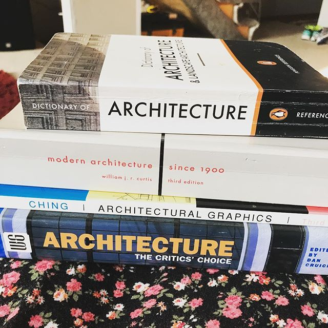 When your friends are architects and they hook you up with reading material for your new job.