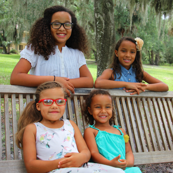 Lilly, Grace, Maya, Faith
