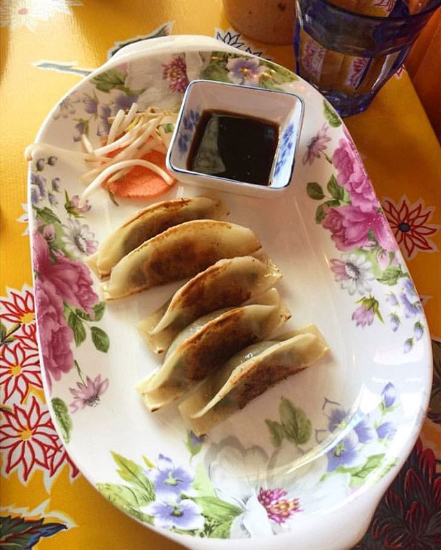 Foie Gras & Duck Confit Potstickers. Yes Please! #eatjackpot #chinatown 📷@triciahall