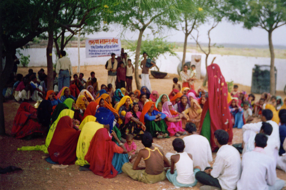Womens Water Committee Meeting,, Rajasthan, India