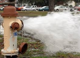 If you have a question about a hydrant running, call 911 or the city office first.