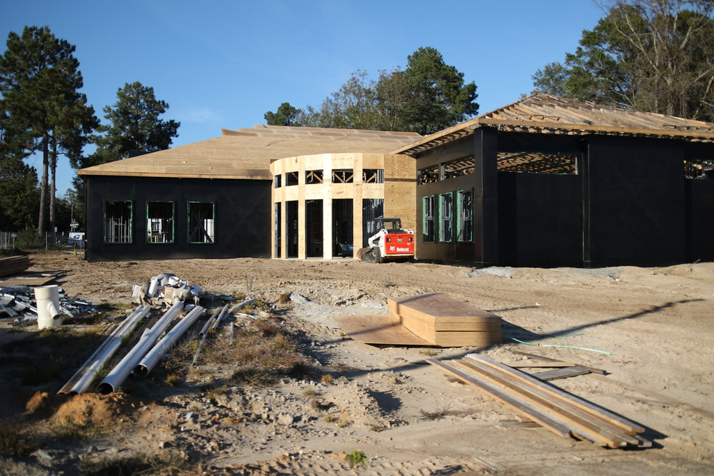 Construction of the new Whiteville City Hall is expected to wrap up February or March.