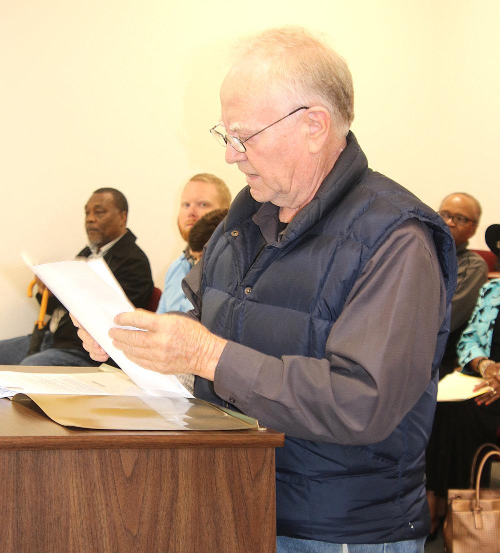 Whiteville property owner and businessman Jim Mauldin