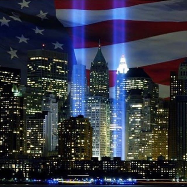 #neverforget #unitedwestand #nyc #911 #nypd #nycfirefighters #firstresponders #heroes 💛