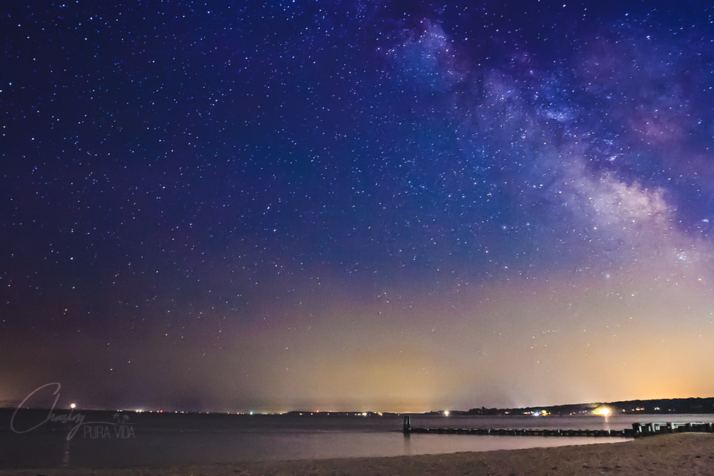 Milky Way as seen from East Marion, NY