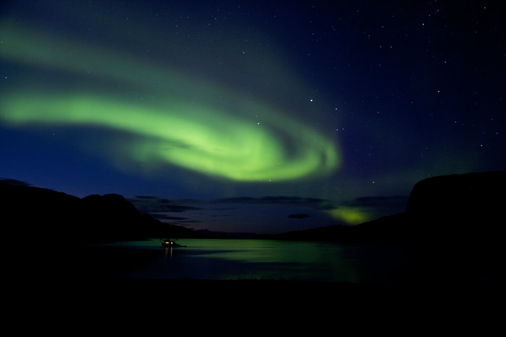Northern lights © Richard Pither
