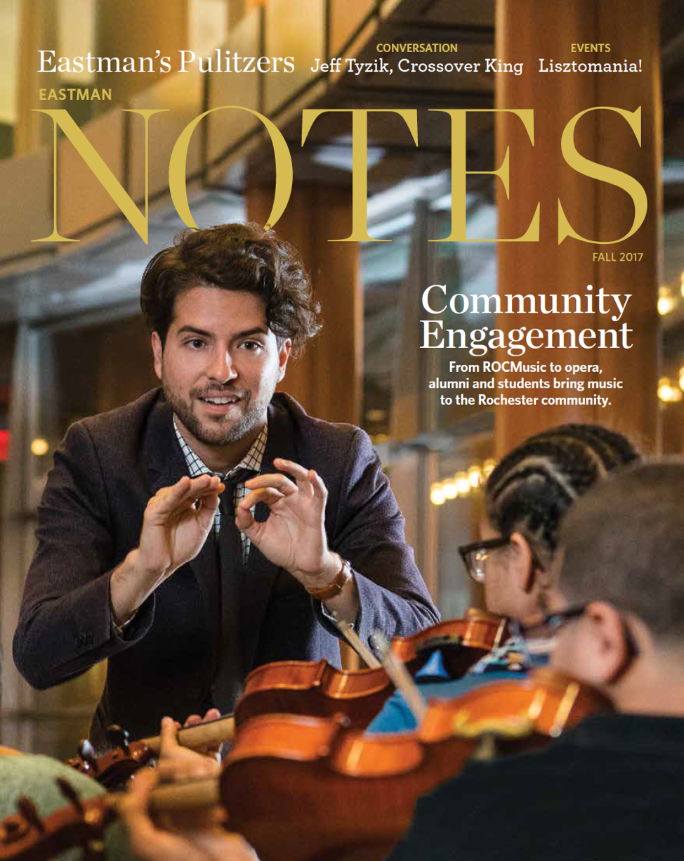 """Eastman Notes"" Features ROCmusic Article"