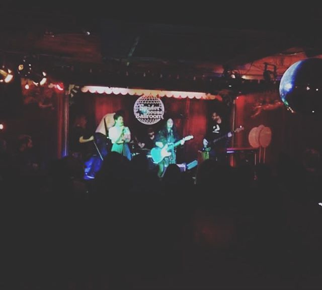 One more blurry eyed thanks to all the people who come out and venues who put on #freeweek shows and ALL THE BANDS! Such great energy. And thank you @spiderhouseparties for having us last night. See you next weekend #freeweekers!  This time we will have something a little different for ya.  #belcurve