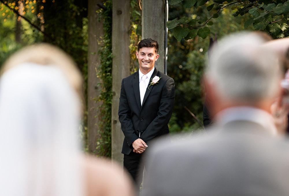 Cape Fear Botanical Garden Wedding.