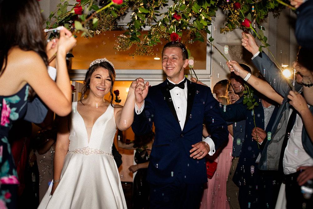 Fayetteville Wedding Photographer Sparkler exit-8.jpg