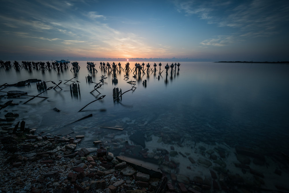 Landscape photographs from sunrises and sunsets in  Key West Flo